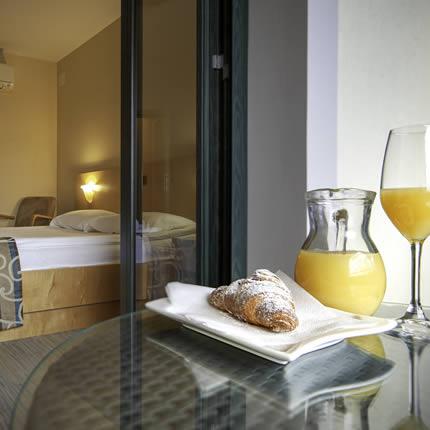 Hotel Malovec soba z balkonom